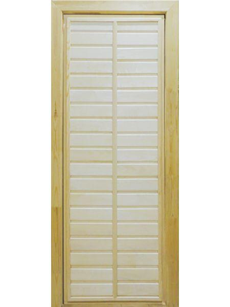 Банная дверь ПГ-1 (Осина)