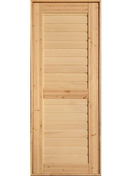 Банная дверь ПГ-10 (Осина)