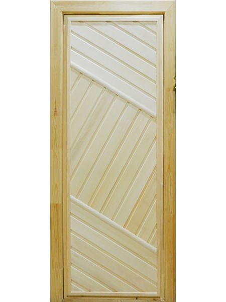 Банная дверь ПГ-2 (Осина)