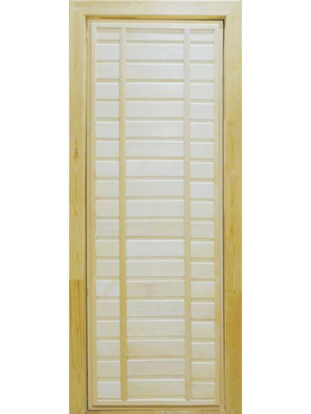 Банная дверь ПГ-3 (Осина)