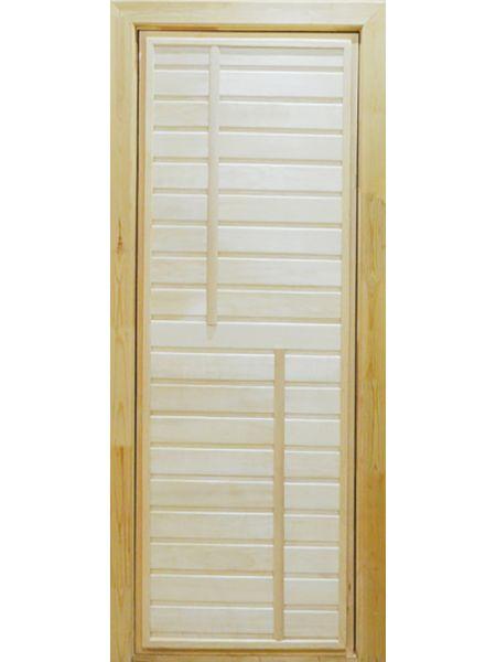 Банная дверь ПГ-4 (Осина)