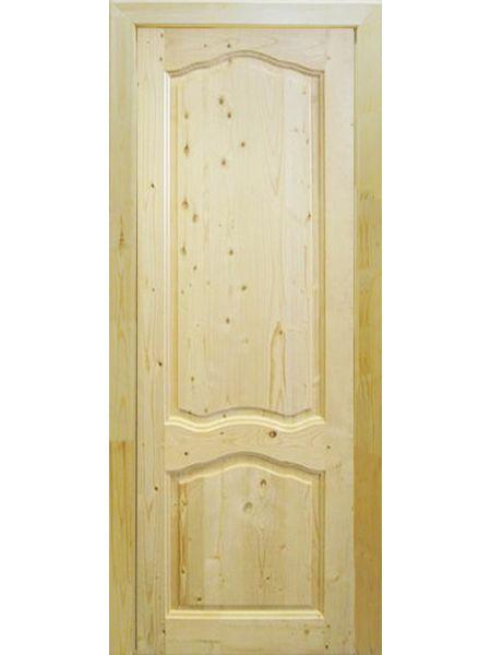 Банная дверь ПГ Филёнчатая (Сосна)