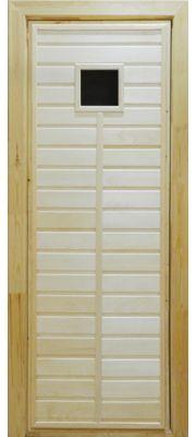 Дверь для бани и сауны ПО-1 (Липа)