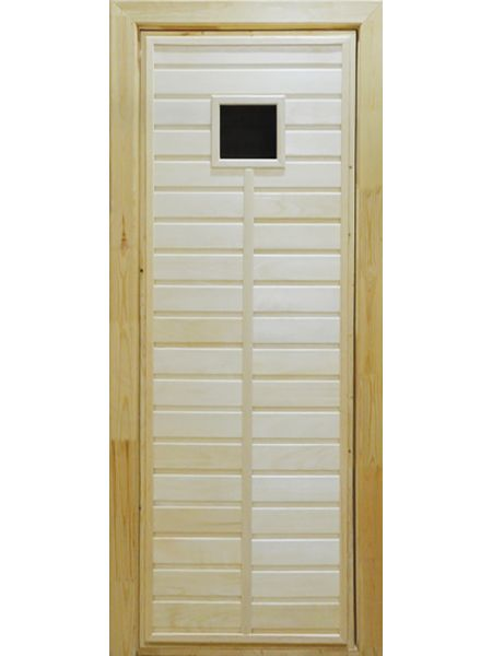 Банная дверь ПО-1 (Липа)