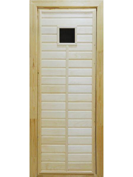 Банная дверь ПО-1 (Осина)