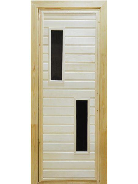 Банная дверь ПО-2 (Осина)