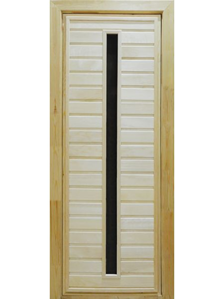 Банная дверь ПО-3 (Липа)