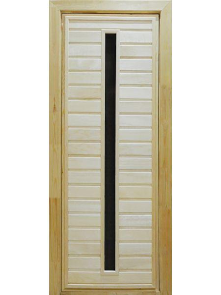 Банная дверь ПО-3 (Осина)