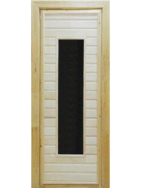 Банная дверь ПО-4 (Осина)