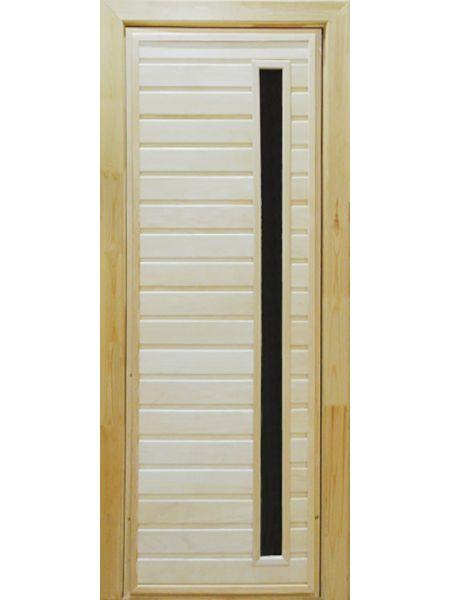 Банная дверь ПО-5 (Осина)