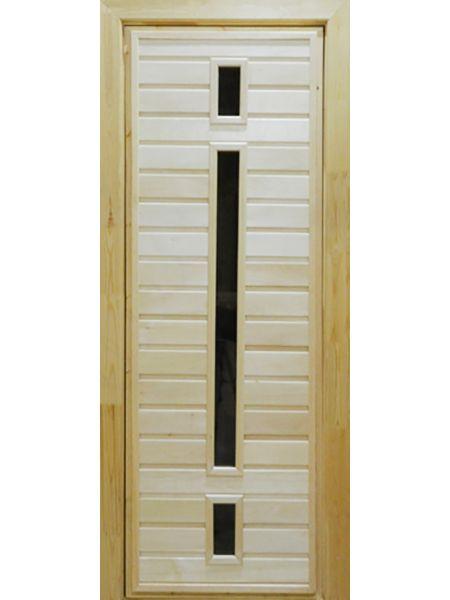 Банная дверь ПО-6 (Липа)