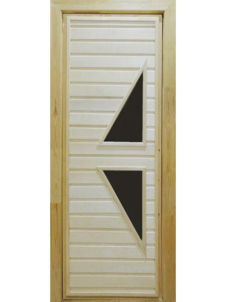 Банная дверь ПО-7 (Липа)