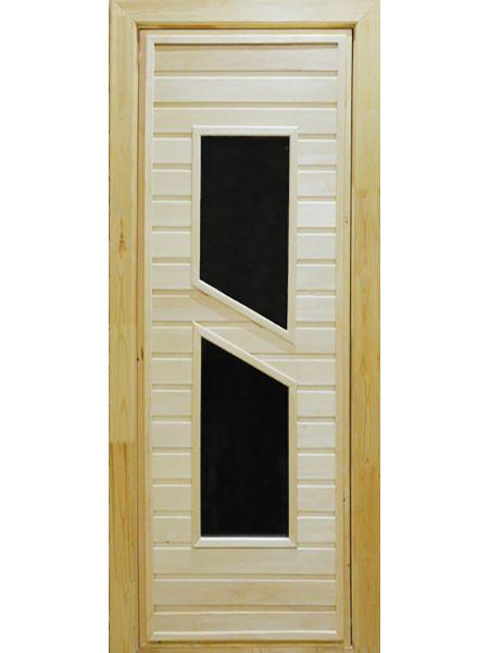 Банная дверь ПО-8 (Липа)