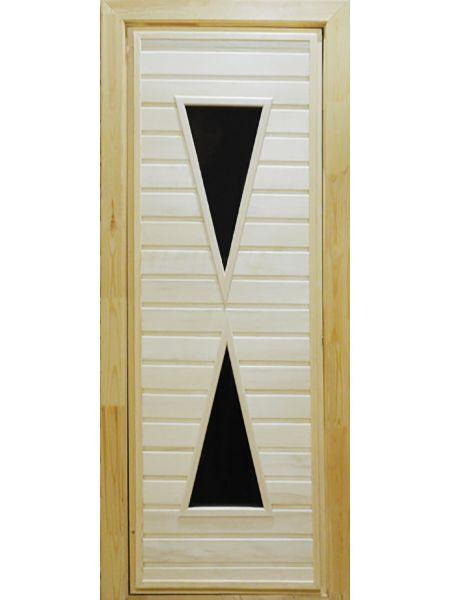 Банная дверь ПО-9 (Липа)