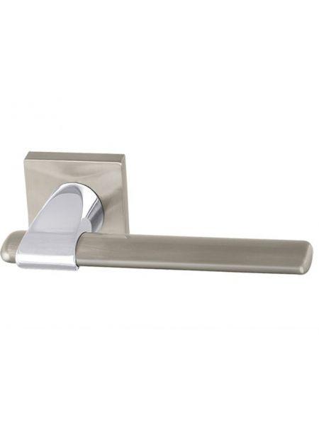 Дверная ручка Armadillo Ajax USQ1 SN/CP/SN-12 (Мат. никель/хром/мат. никель)