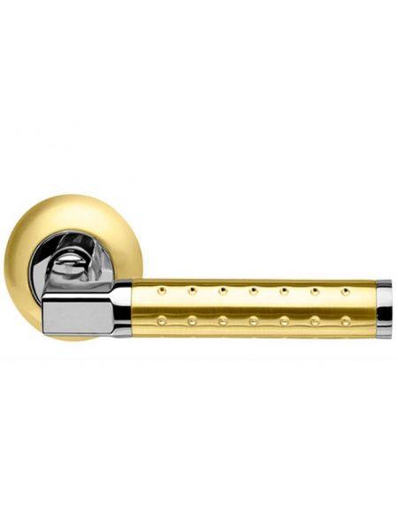 Дверная ручка Armadillo Eridan LD37-1SG/CP-1 (Матовое золото/хром)