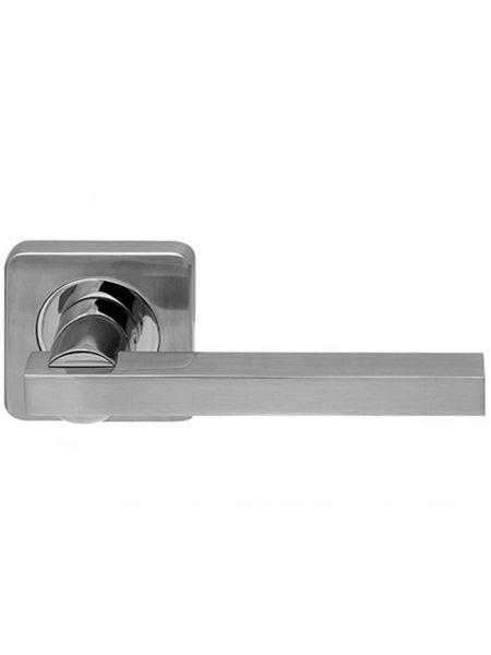 Дверная ручка Armadillo Orbis SQ004-21SN/CP-3 (Матовый никель/хром)