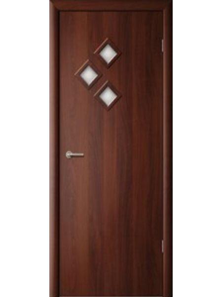 Межкомнатная дверь ПО Стрела (Итальянский орех)