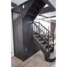 Деревянная лестница №3