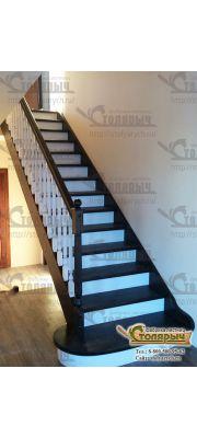 Деревянная лестница №5
