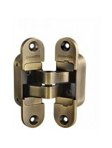Петля скрытой установки Armadillo с 3D-регулировкой Architect 3D-ACH 40 AB Бронза прав. 40 кг