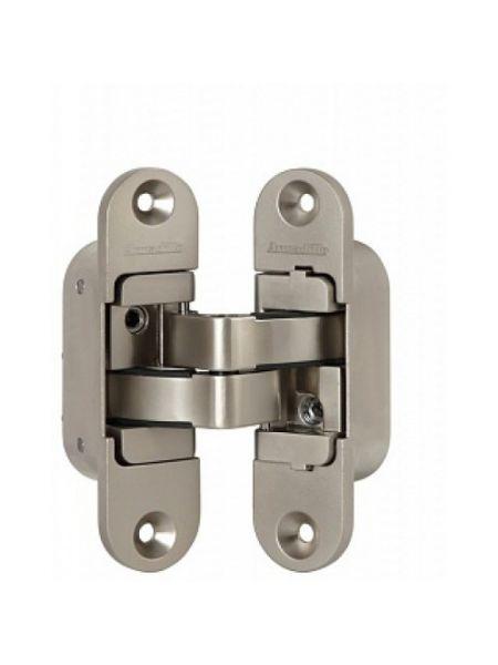 Петля скрытой установки Armadillo с 3D-регулировкой Architect 3D-ACH 40 SN Матовый никель прав. 40 кг