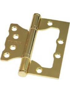 Петля накладная 100*75*2,5 2ВВ SB ARSENAL, унив., золото матовое