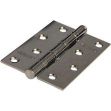 Дверная петля 100*70*2,5 4ВВ BН ARSENAL, универсальная, черный никель