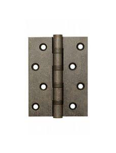 Петля универсальная Armadillo 500-C4 100x75x3 AS Античное серебро Box