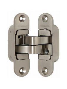 Петля скрытой установки Armadillo с 3D-регулировкой Architect 3D-ACH 60 SN Матовый никель прав. 60 кг
