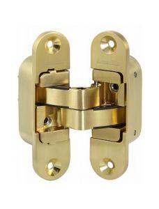 Петля скрытой установки Armadillo с 3D-регулировкой Architect 3D-ACH 60 SG Матовое золото лев. 60 кг