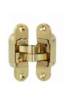 Петля скрытой установки Armadillo с 3D-регулировкой Architect 3D-ACH 40 SG Матовое золото лев. 40 кг