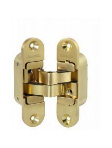 Петля скрытой установки Armadillo с 3D-регулировкой Architect 3D-ACH 40 SG Матовое золото прав. 40 кг