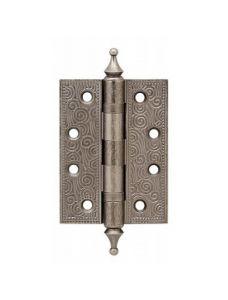 Петля Armadillo универсальная Castillo CL 500-A4 102x76x3,5 AS Античное серебро