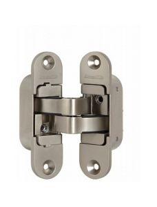 Петля скрытой установки Armadillo с 3D-регулировкой Architect 3D-ACH 40 SN Матовый никель лев. 40 кг