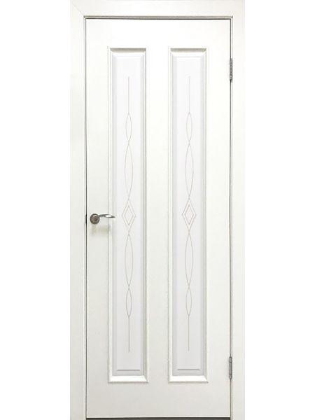 Межкомнатная дверь Greenwood ПГ Эврика (Белый ясень)