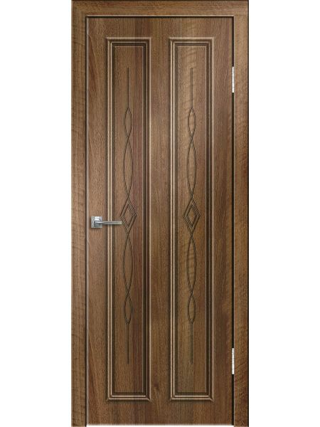 Межкомнатная дверь Greenwood ПГ Эврика (Орех седой светлый)