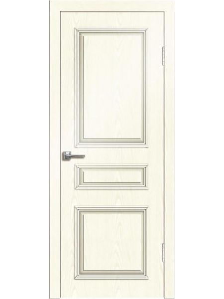 Межкомнатная дверь Greenwood ПГ Нордика (Белый ясень)