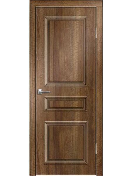 Межкомнатная дверь Greenwood ПГ Нордика (Орех седой светлый)