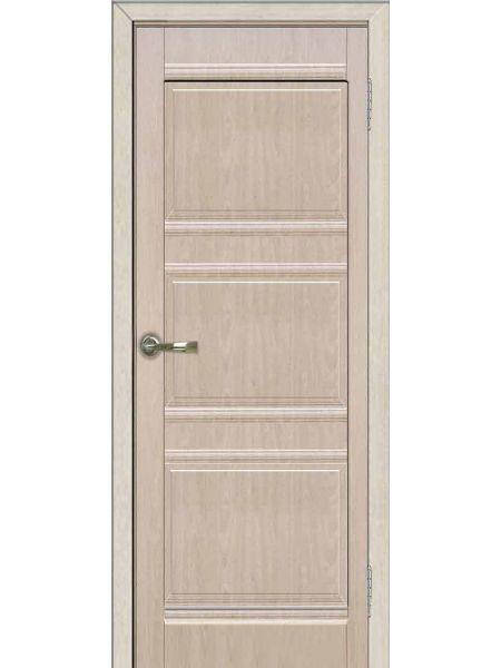 Межкомнатная дверь Greenwood ПГ Трио (Беленый дуб)