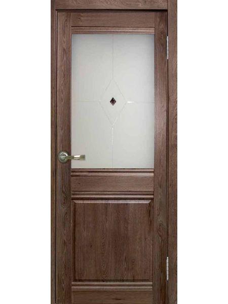 Межкомнатная дверь Greenwood ПО Дуэт (Шокко)