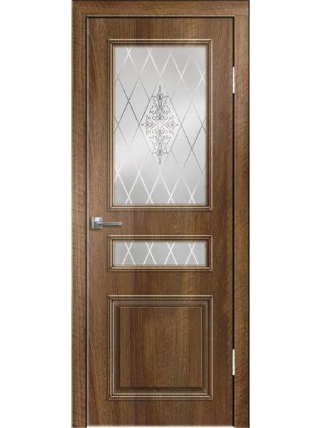 Межкомнатная дверь Greenwood ПО Нордика (Орех седой светлый)