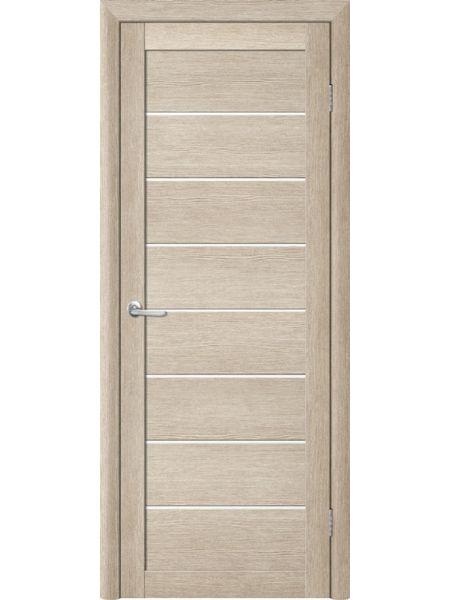 Межкомнатная дверь Trend doors ПО T-1 (Акация кремовая - Белый акрилат)