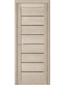 Двери Trend doors ПО T-1 (Акация кремовая - Черный акрилат)