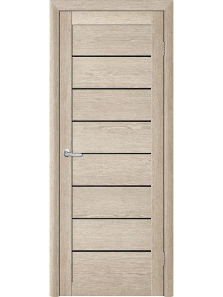 Межкомнатная дверь Trend doors ПО T-1 (Акация кремовая - Черный акрилат)