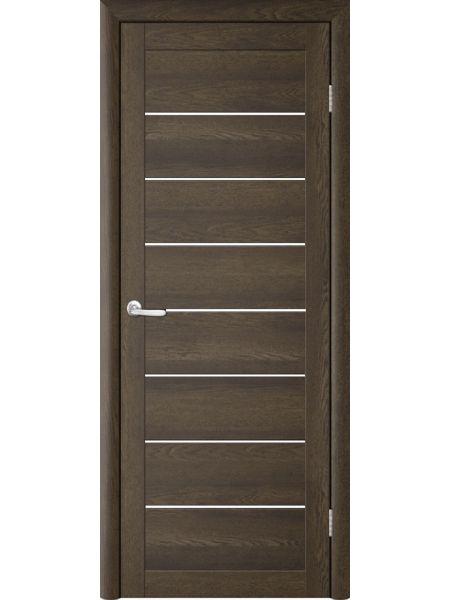 Межкомнатная дверь Trend doors ПО T-1 (Дуб оксфорд - Белый акрилат)