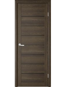 Trend doors ПО T-1 (Дуб оксфорд - Черный акрилат)