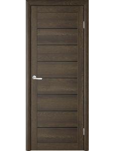 Межкомнатные двери Trend doors ПО T-1 (Дуб оксфорд - Черный акрилат)