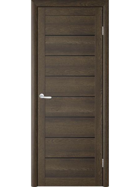 Межкомнатная дверь Trend doors ПО T-1 (Дуб оксфорд - Черный акрилат)