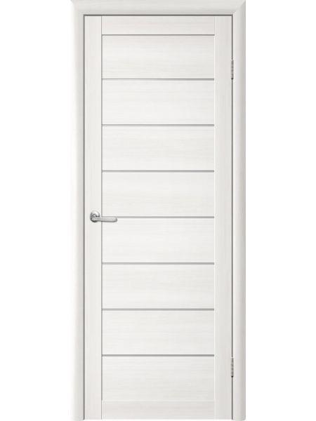 Межкомнатная дверь Trend doors ПО T-1 (Лиственница белая - Белый акрилат)